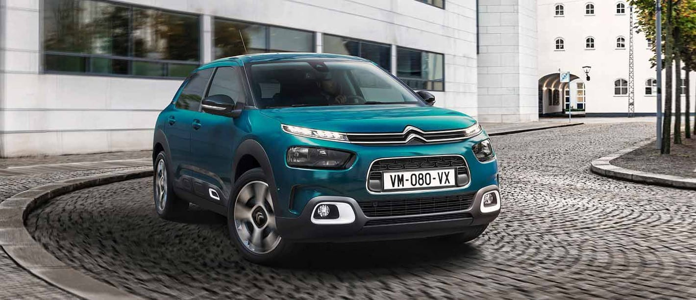 Citroën C4 azul