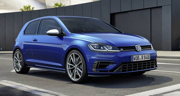 Volkswagen Golf azul