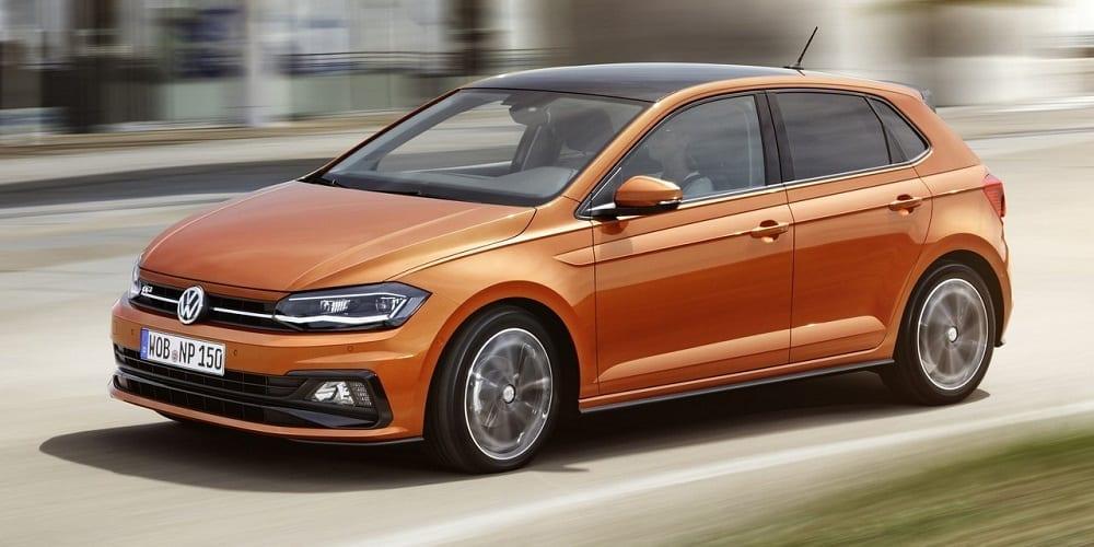 Volkswagen Polo naranja