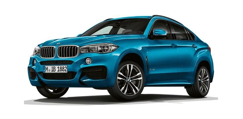 BMW X6 de segunda mano