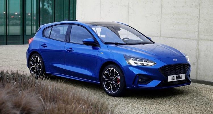 Ford Focus azul