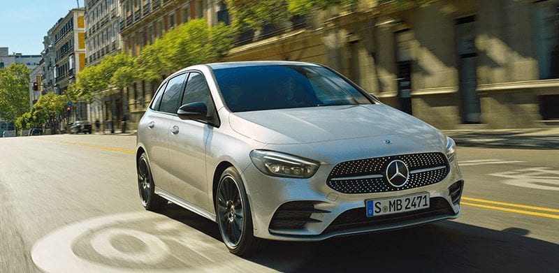Mercedes-Benz Clase B de segunda mano