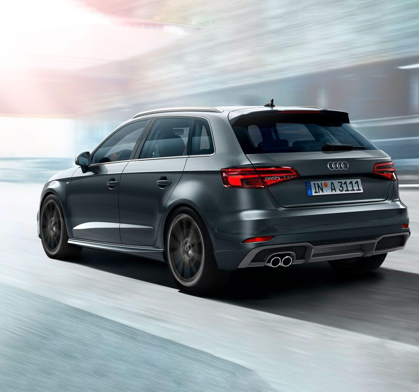 Audi A3 en carretera