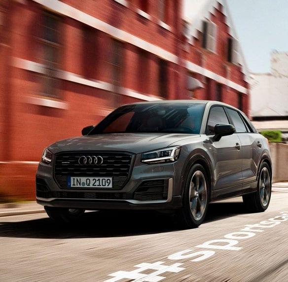 Audi Q2 circulando