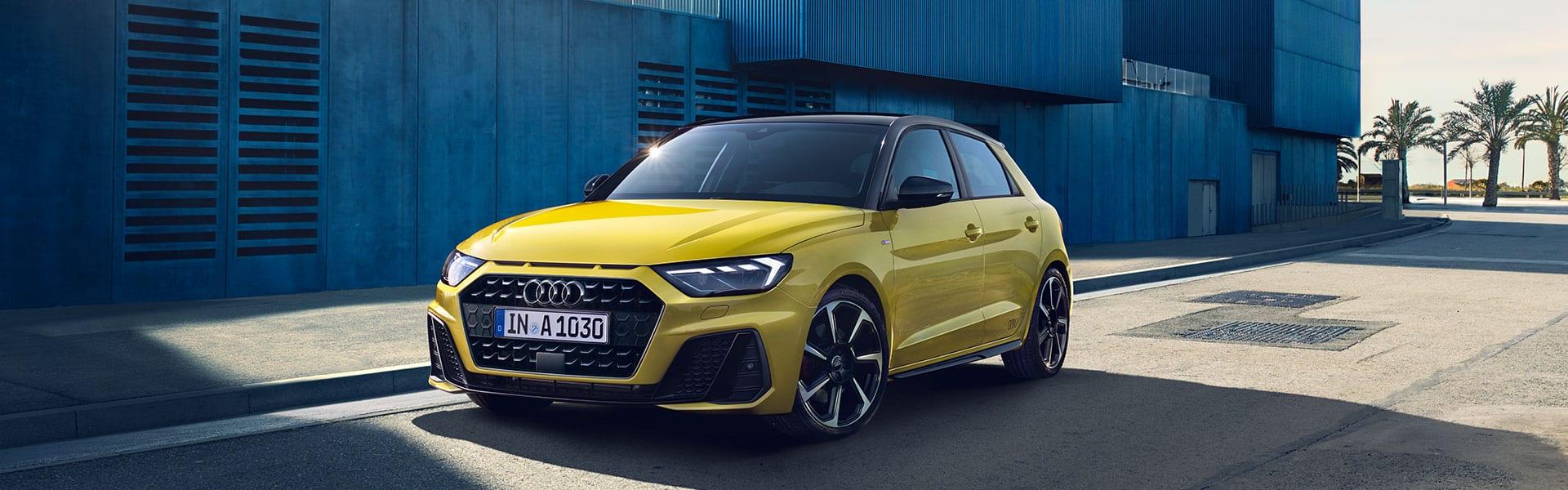 Audi A1 aparcado